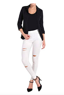 this simple but chic blazer -