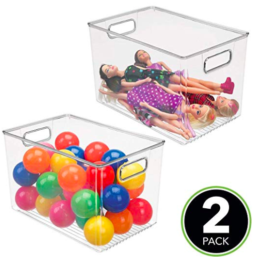 2 pack for $24 - great for under the sink cleaning products, toys, laundry room storage