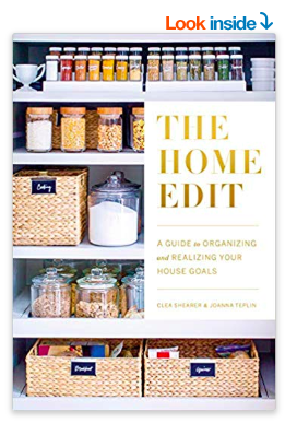 the home organization book you've seen everywhere - and now you actually need to read it - a few cheaper versions of their hacks listed below