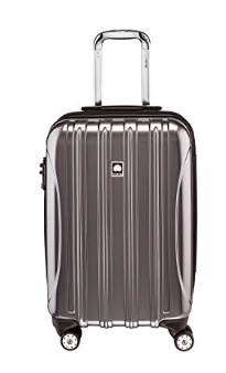 carry on luggage with spinner wheels -