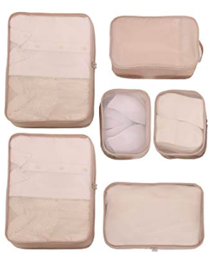 packing cubes -
