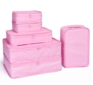 organized packing -