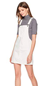 have been loving white overall dresses as swim cover-ups -