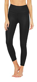 fly in comfort with alo leggings -