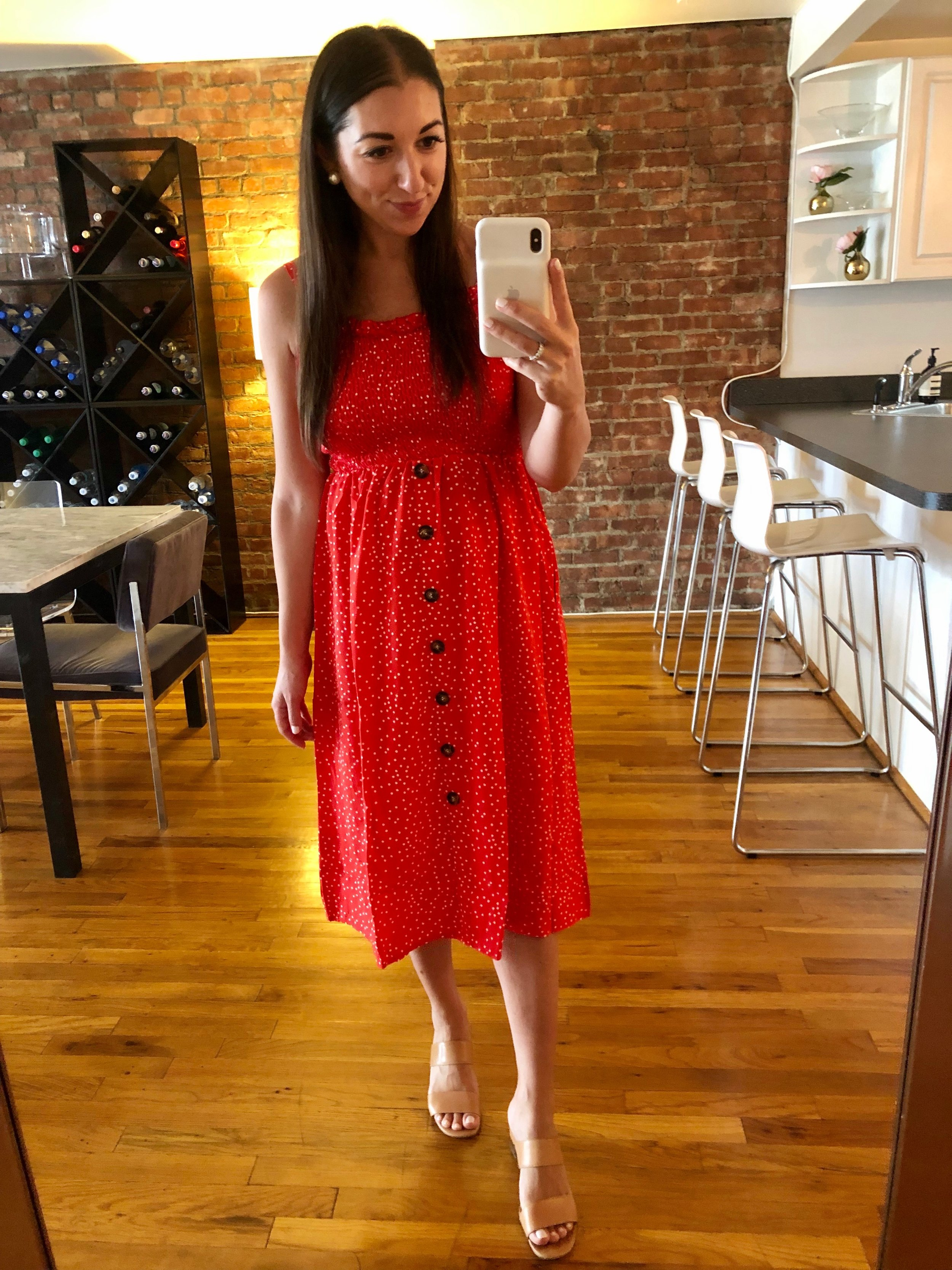 final days of summer: amazon haul - the most comfortable dress
