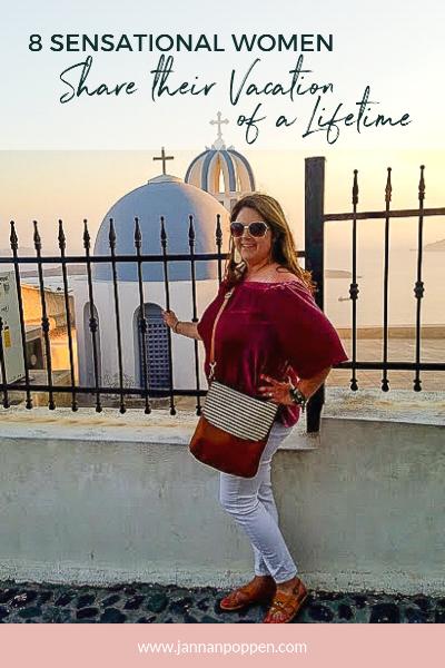 The lovely Teri Gosselin in Greece