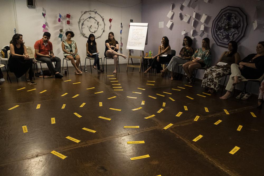 Cursos em Comunicação Não-Violenta - Registros dos cursos em CNV