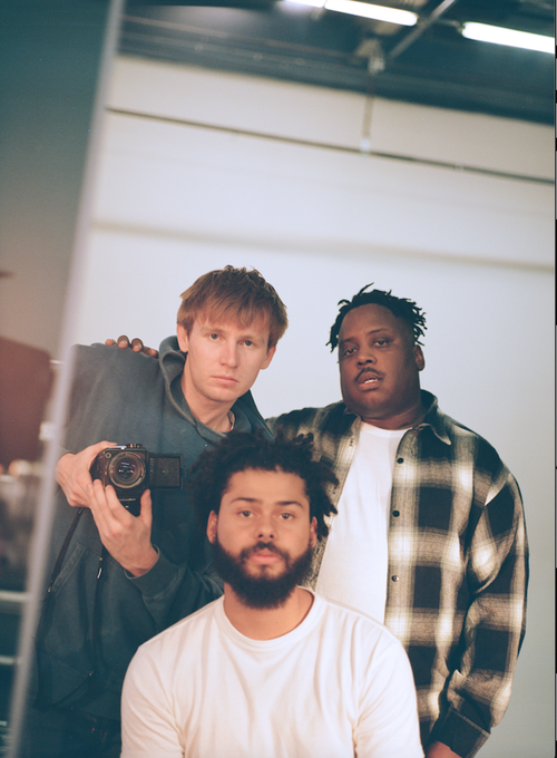 (From left to right) Parker, Ritchie, and Stepa of Injury Reserve