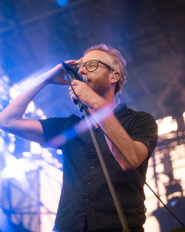 yoooo it's @thenational! go check out the photo gallery on our site! 📸: @goldrosecrown