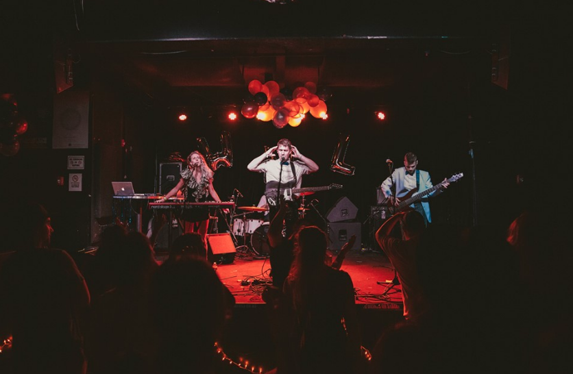 August 17th at The Pyramid Scheme (Photo by Veronica Leigh)