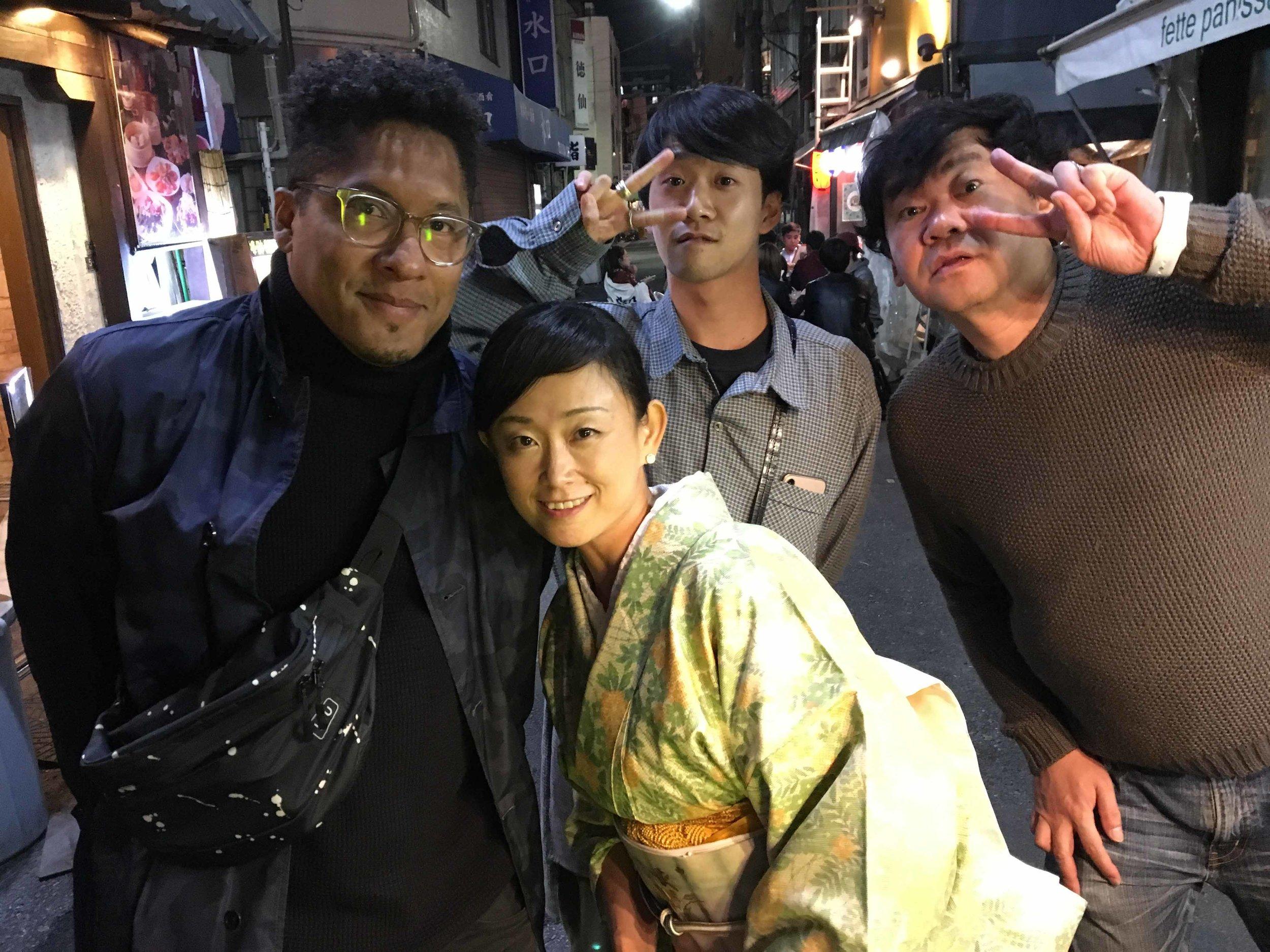 an evening in Asakusa