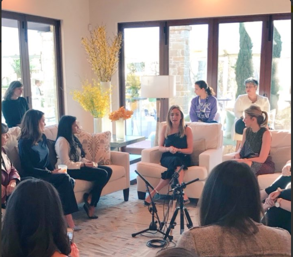 SXSW: Women@Forbes x Bumble     March 2017  We teamed up with Forbes/Women @ Forbes during SXSW to achieve a mutual goal: women supporting women in business, relationships, and beyond.  Through two events we celebrated women, learned about each other's respective industries, and became overwhelmingly inspired.  Here are a few of the women we were honored to have on our panel alongside Bumble Founder and CEO Whitney Wolfe and Bumble's Head of Brand Content, Alex Williamson.   Gloria Feldt    Lynn Perkins    Amani Al-Khatahtbeh    Deepti Sharma    Lauren Weiniger   Bumble is inspired by the women we've highlighted, but we're also inspired by all you wonderful, powerful, intelligent women everyday!