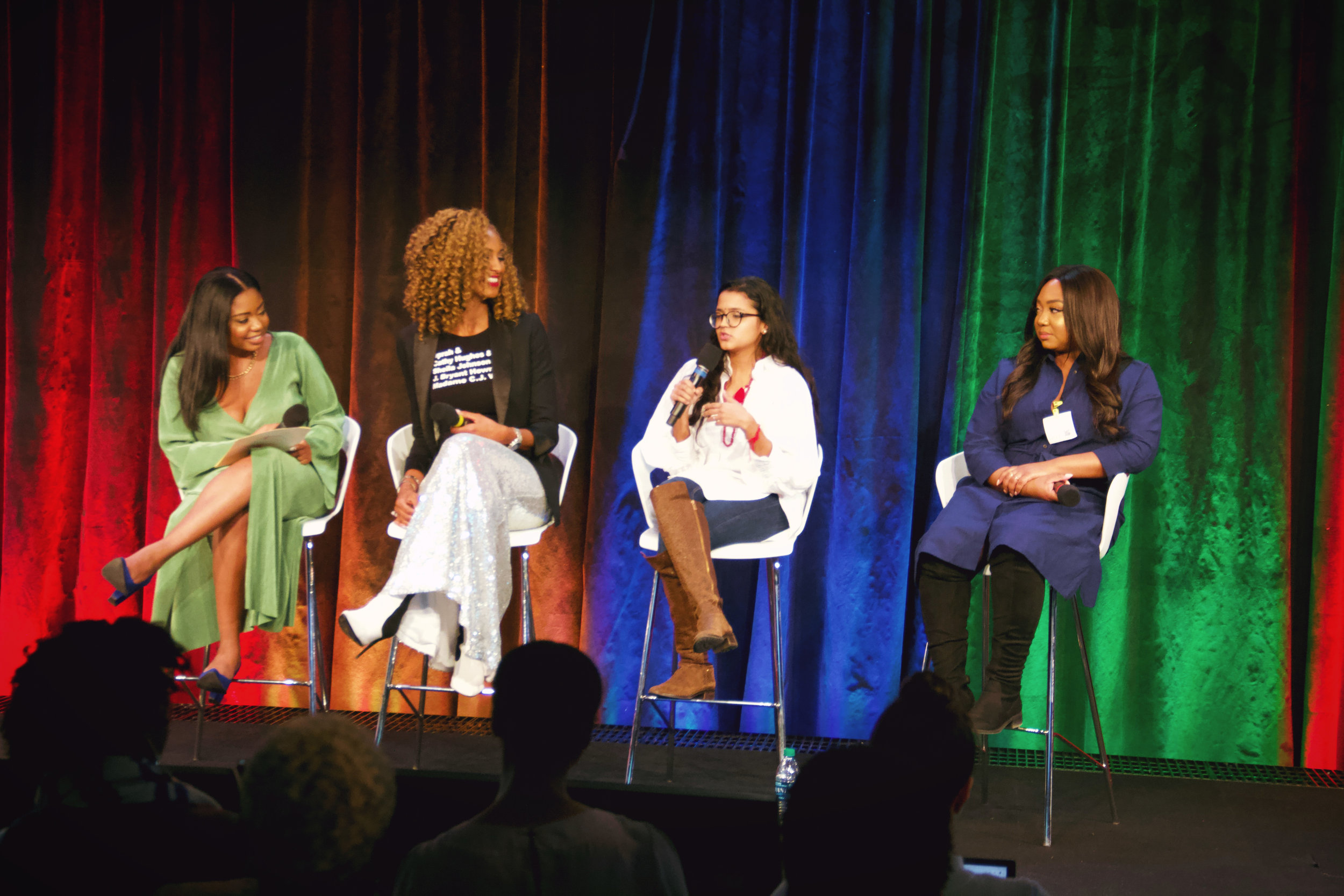 Google x Her Agenda: Funding Options For Your Business     February 13, 2019  Rhonesha Byng- Moderator Founder or HerAgenda  Lauren Maillian- Investor, Brand Strategist, Founder LMB Group  Pauleanna Reid- Journalist & Celebrity Ghostwriter