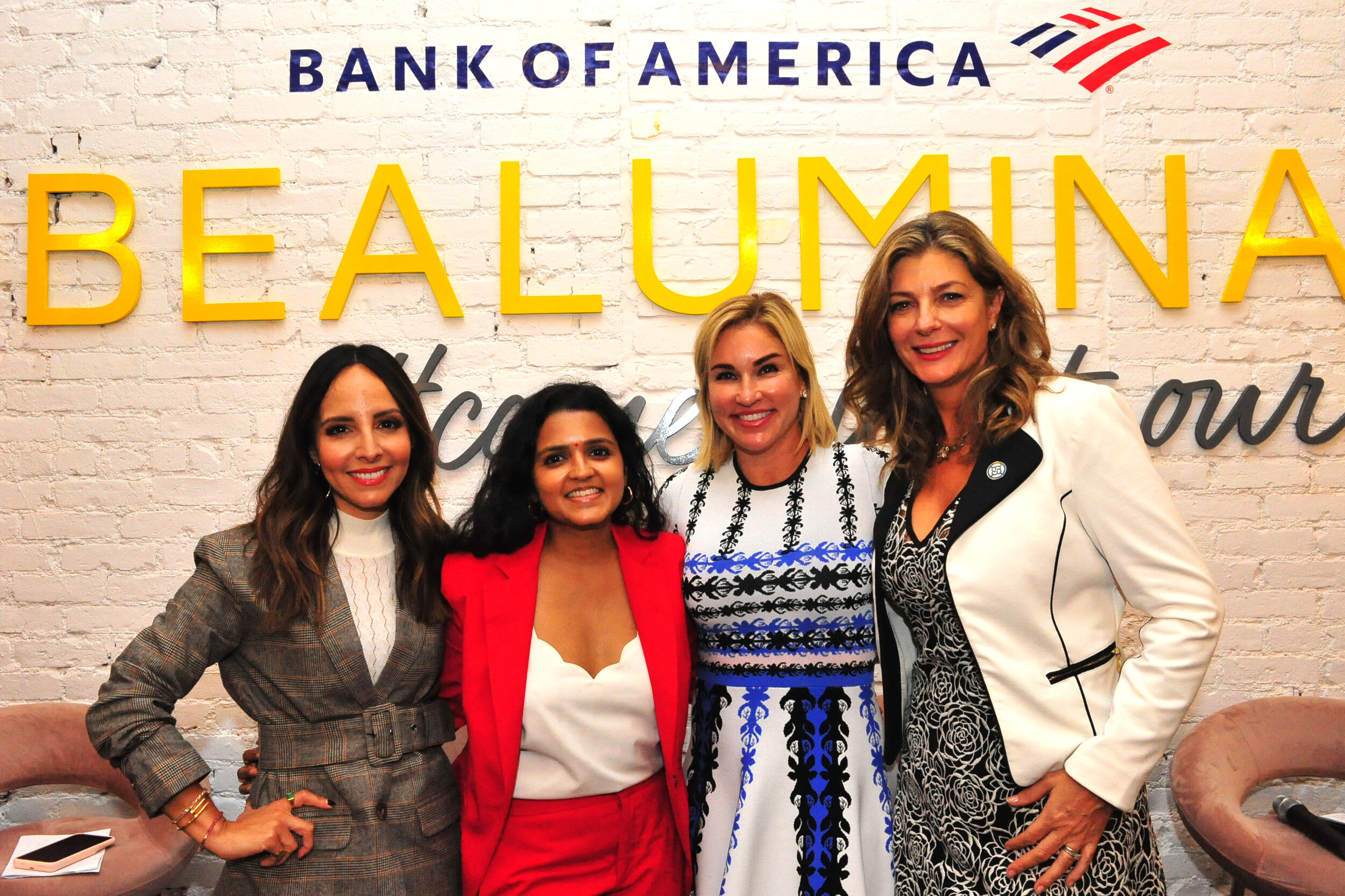 Bank of America Panel  Celebrating Women in Business: Progress Made and the Path Ahead  Lilliana Vazquez Style Expert & Correspondent NBC's Today and Access Hollywood  Sharon Miller Head of Small Business Bank of America  Elizabeth Foster President, NAWBO NYC Founder, Maison Visionnaire