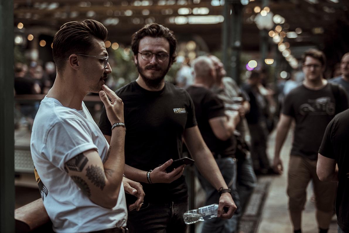 Bike Shed 2019 - Drew Deas - Ferrous - Henry Crew - Scott Blackburn
