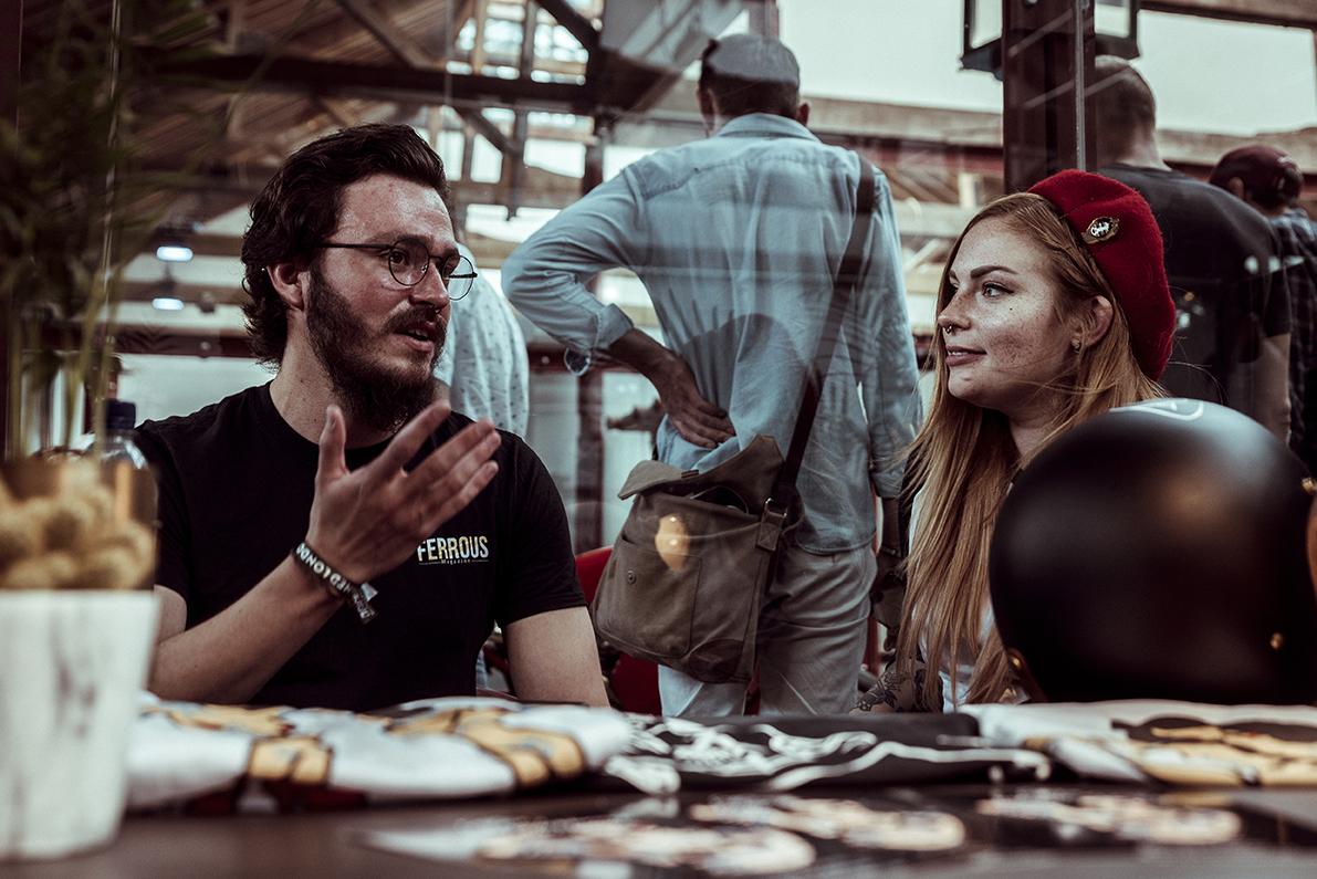 Bike Shed 2019 - Drew Deas - Ferrous - Lola Blackheart - Scott Blackburn