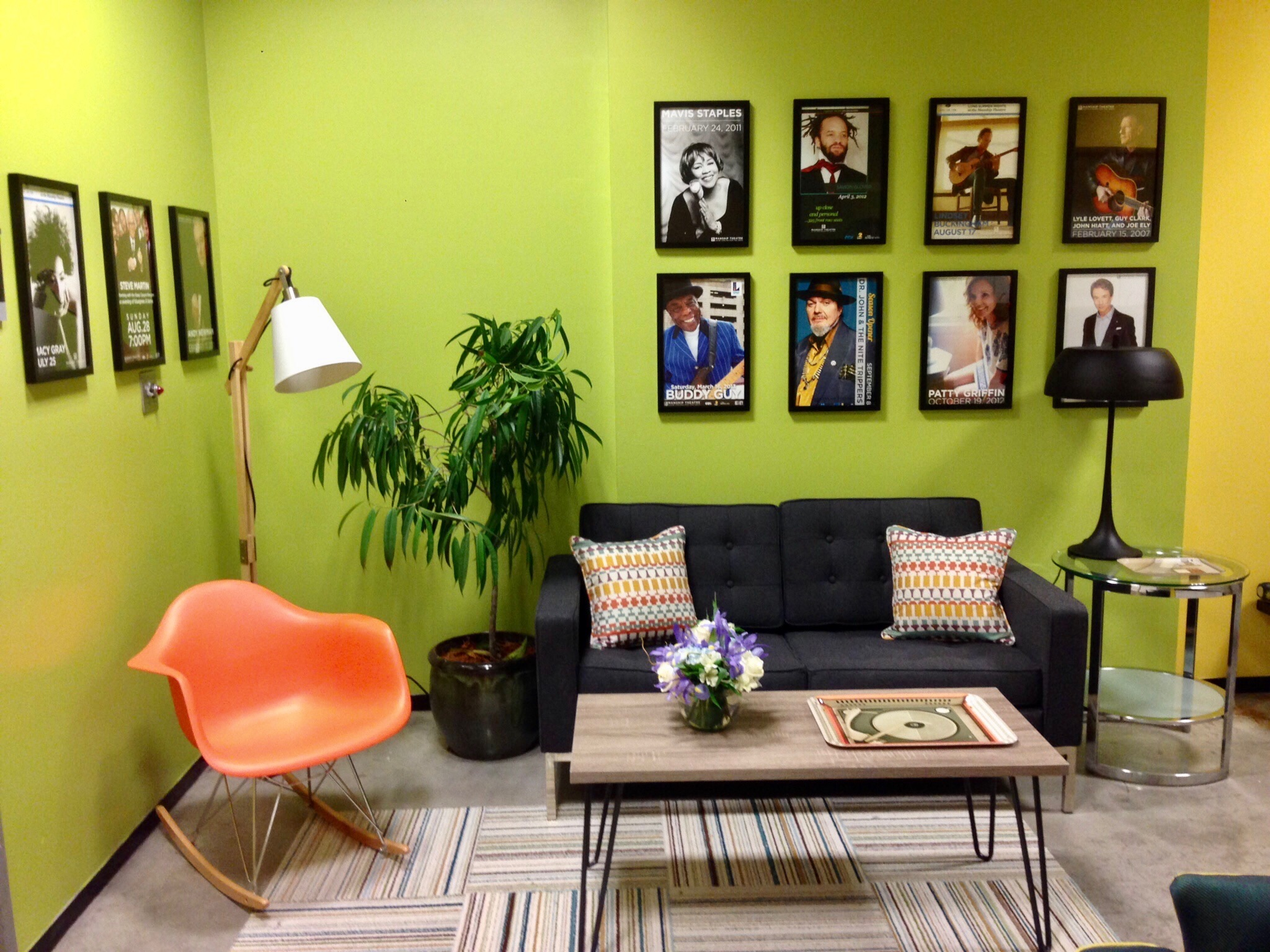 Manship Theatre Green Room