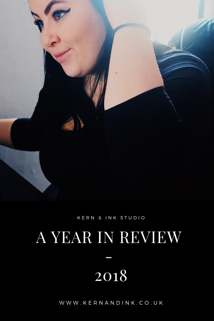 A Year in Review, 2018, Graphic Design Business