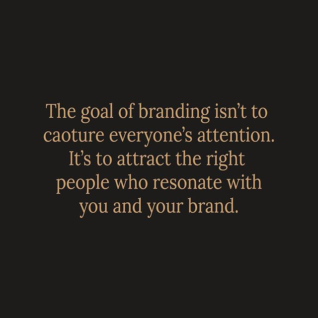 People often think branding means that your just aiming to attract everyone - really what it's about is finding YOUR people. The people who support you, buy your product or service, tell their friends about it and root for you to succeed. They love you and your business. These people could vary from old to young, mountain climbers, Mother's, dads. And I believe everyone business is truly unique meaning every businesses audience is unique. As I designer, it's my job to understand these people and figure what they love. What speaks to them. What colours attract their attention, what colours communicate to them that YOU are what they need. Branding isn't about grabbing everyone's attention and getting an okay response, it's about getting a more smaller focused audience that LOVE LOVE LOVE you and your business!