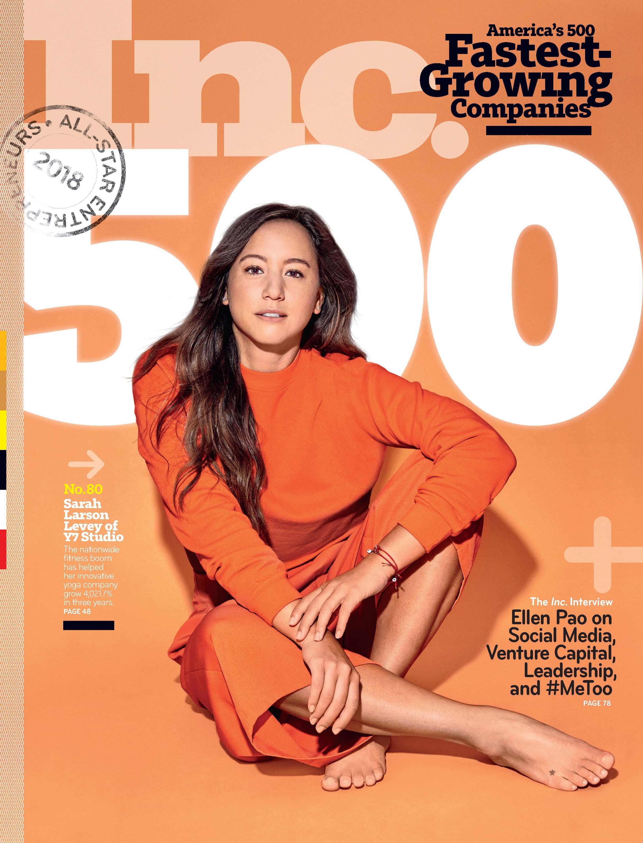 Inc 500 Cover September 2018