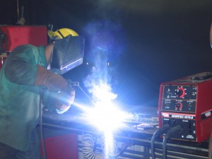 Our welding courses train passionate and skilled welders