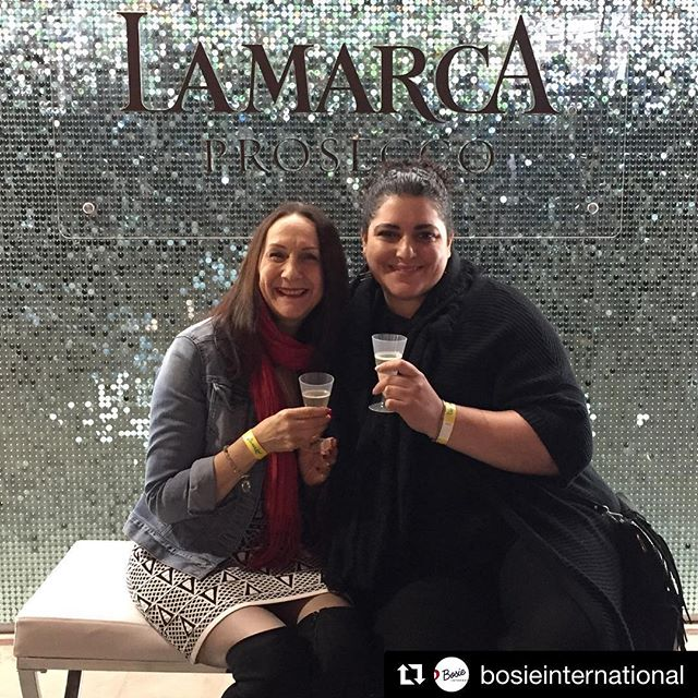 Sipping @lamarcaprosecco with the wonderful @bosieinternational. I can't think of a better way to spend a Saturday. . #Repost @bosieinternational with @get_repost ・・・ Enjoying the first drink of Toronto's Tastemaker event ... yummy La Marca Prosecco with Marnie Sohn #tastemakertoronto #lamarcaprosecco #bosieinternational #russelandsohn @tastemaker @lamarcaprosecco_ca @evergreen_brick_works
