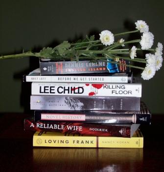 Books Photo by Cindy Fazzi
