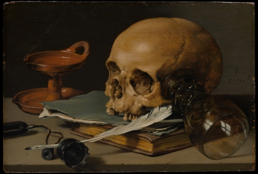 """Pieter Claesz Painting (Image   courtesy of the Metropolitan Museum of Art's """"The Collection Online;"""" Rogers Fund, 1949)."""