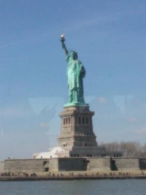 Lady Liberty photo by Nina Fazzi