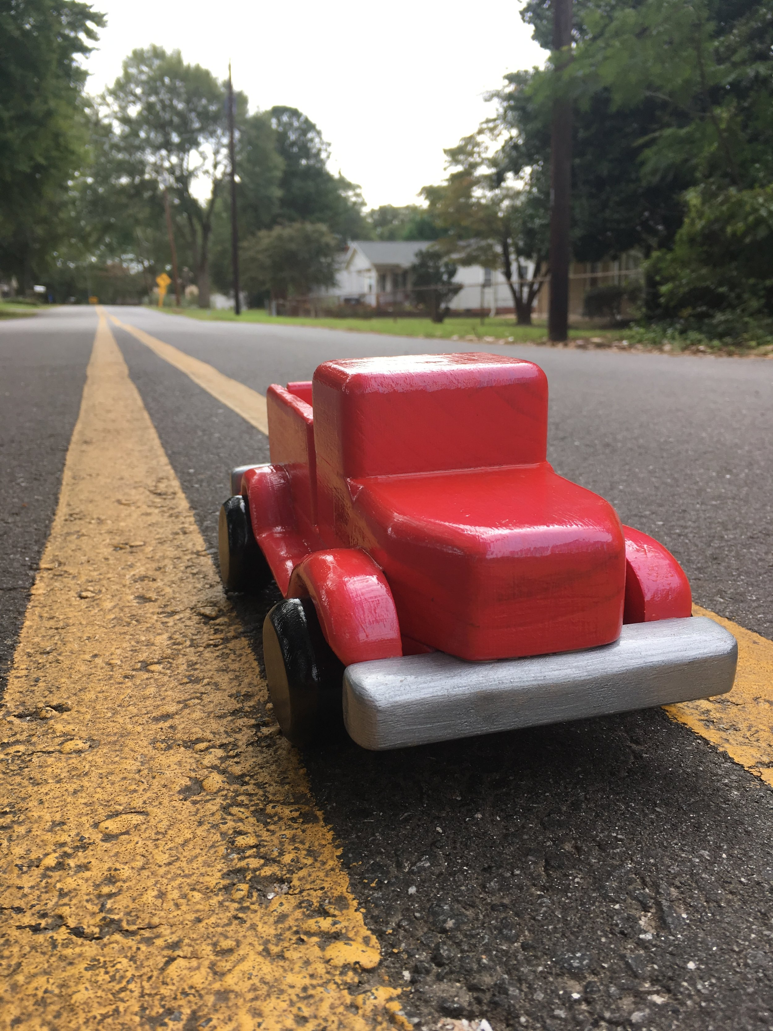 Appalachian Revelators toy farm truck.JPG