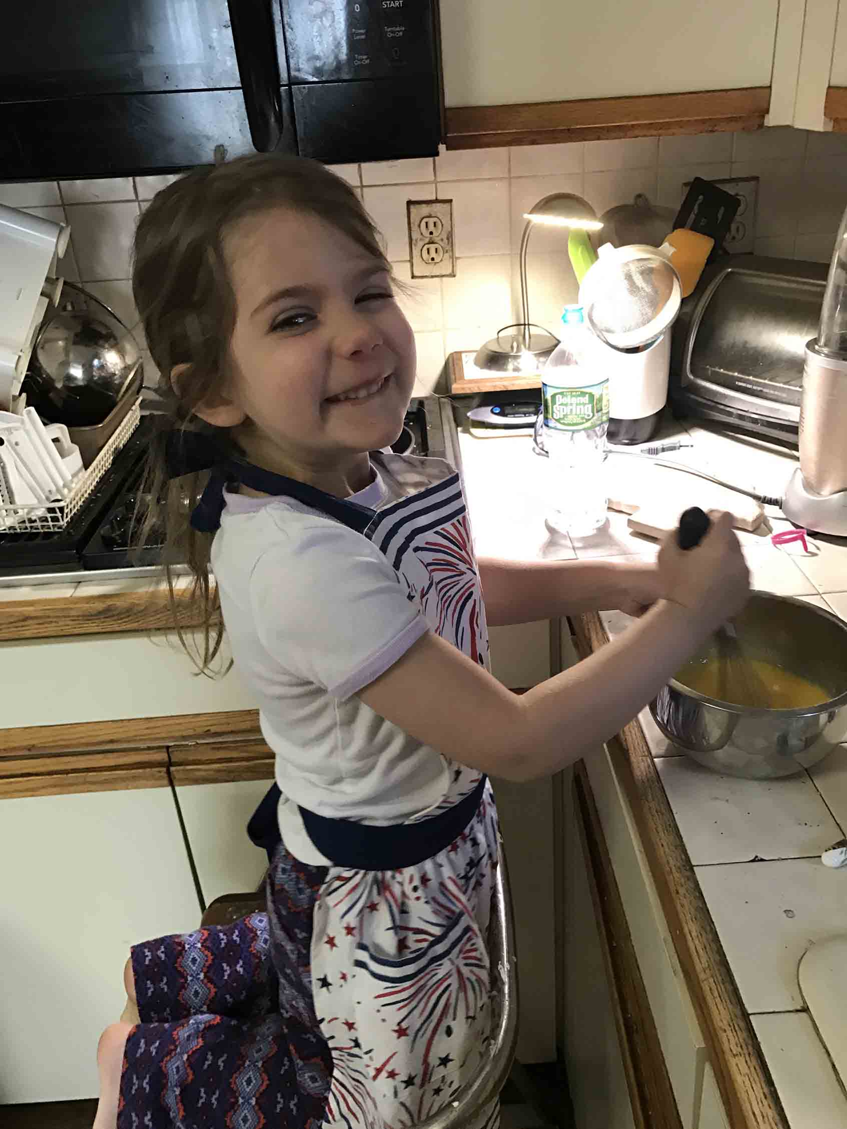 """Miriam Hatoum (""""Granny Keto"""") and her granddaughter love cooking together"""