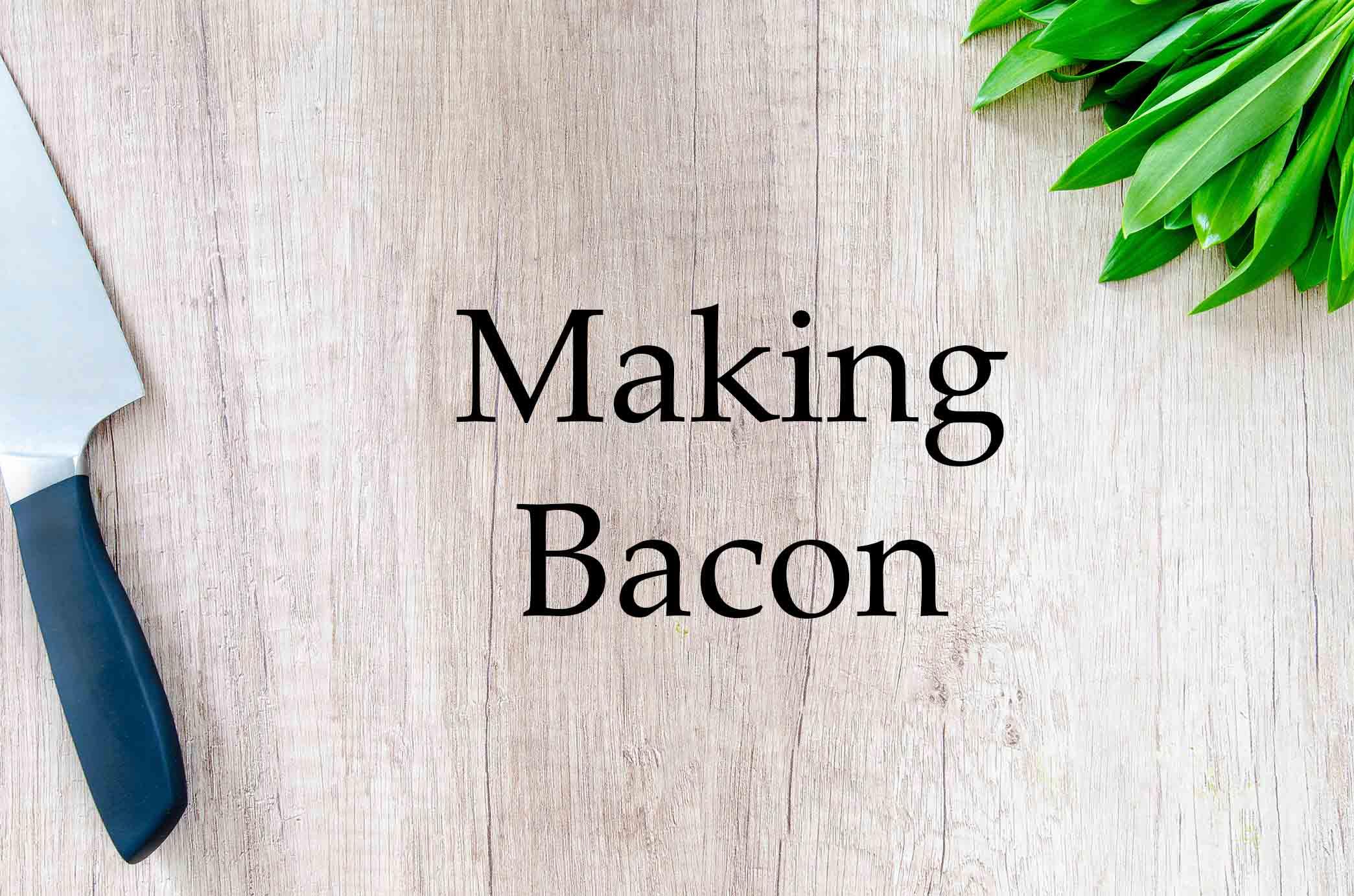 GrannyKeto.com Recipes: Making Bacon