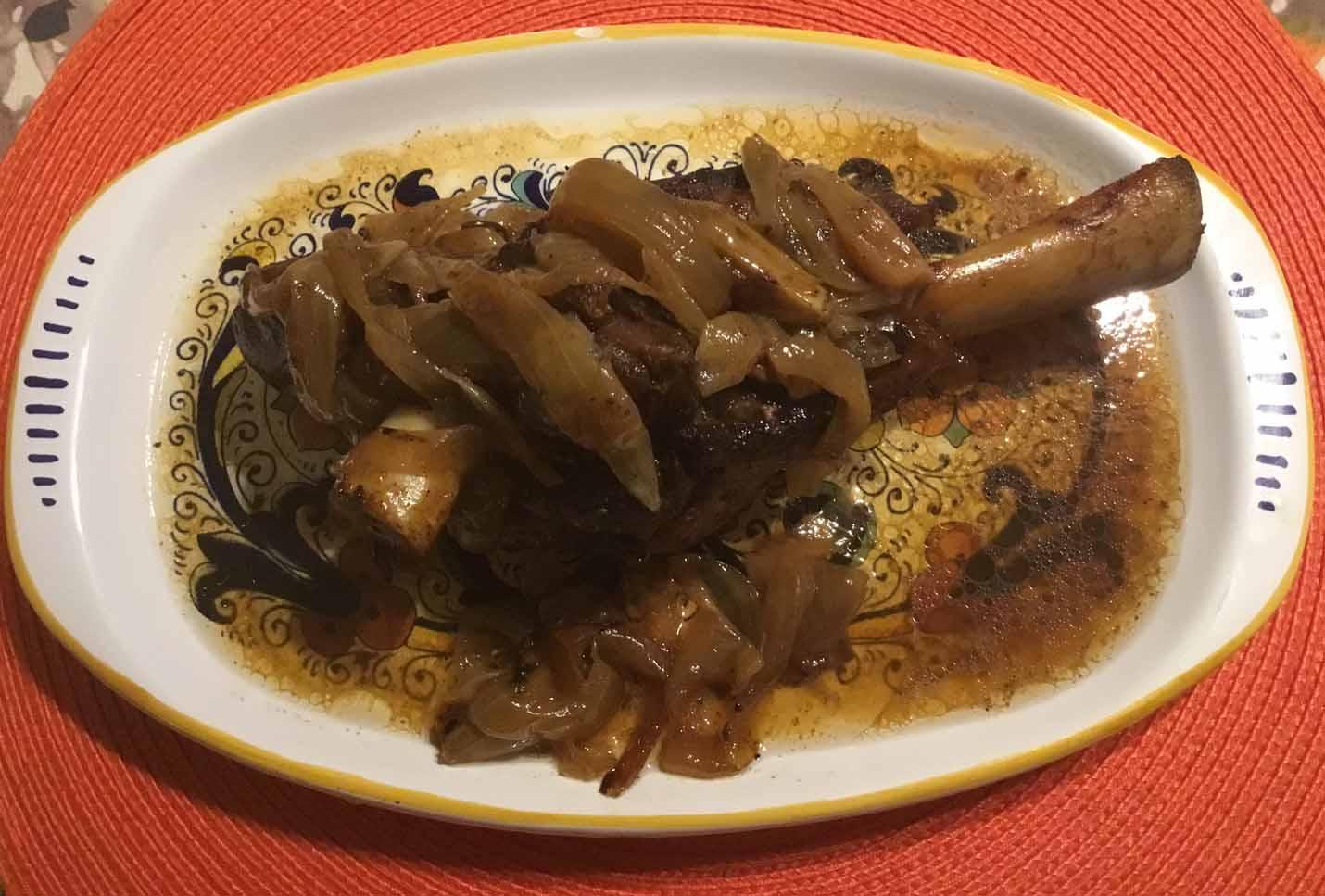 GrannyKeto.com Recipes: Roasted Lamb Shanks