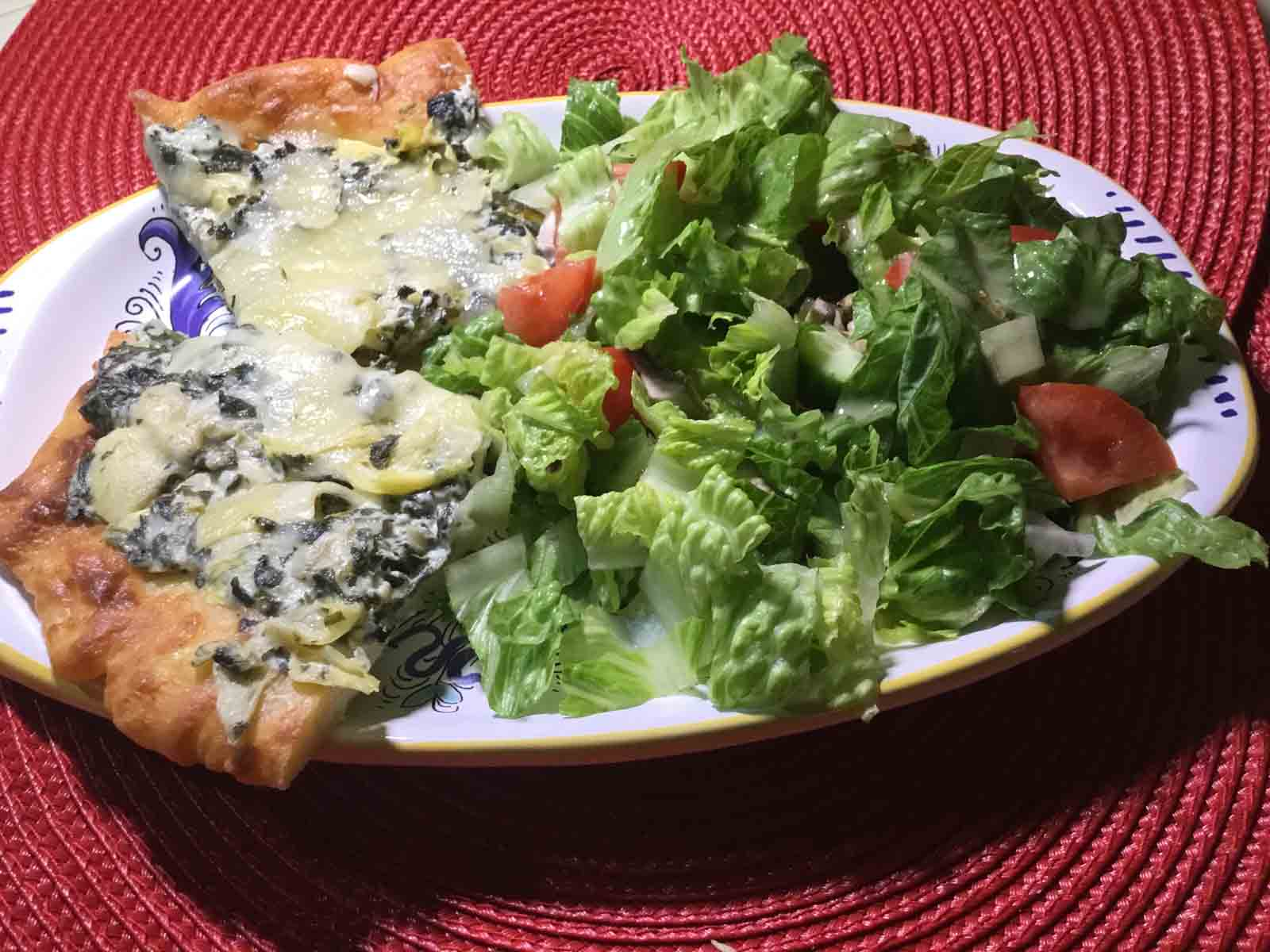 GrannyKeto.com Recipes: Artichoke Dip Pizza