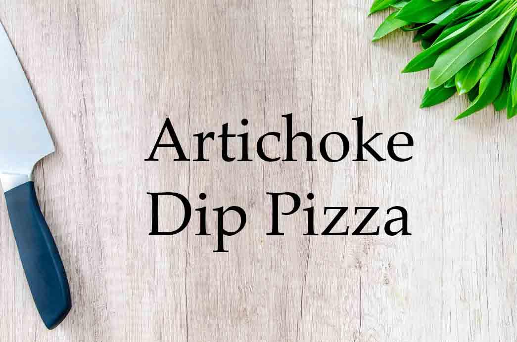 GrannyKeto.com Recipes: Artichoke Dip Pizza