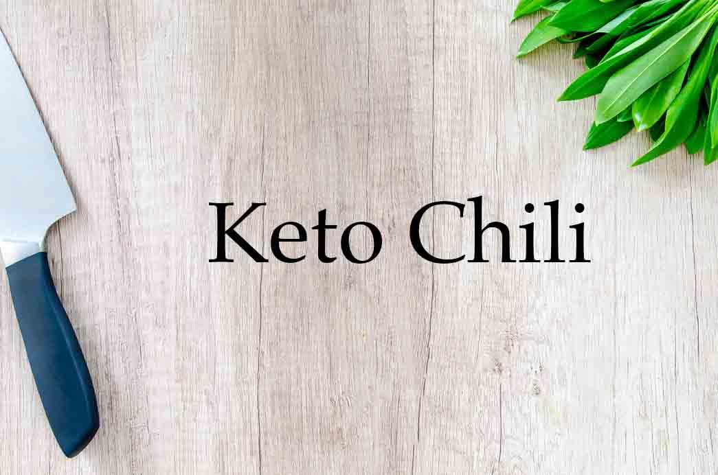 Grannyketo.com Recipes: Keto Chili