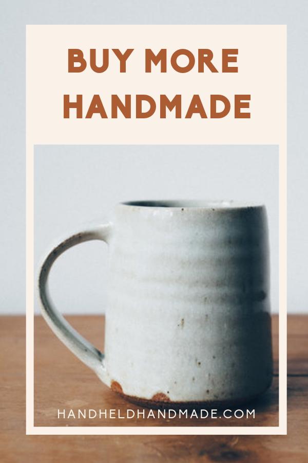 Resolve to buy handmade this year