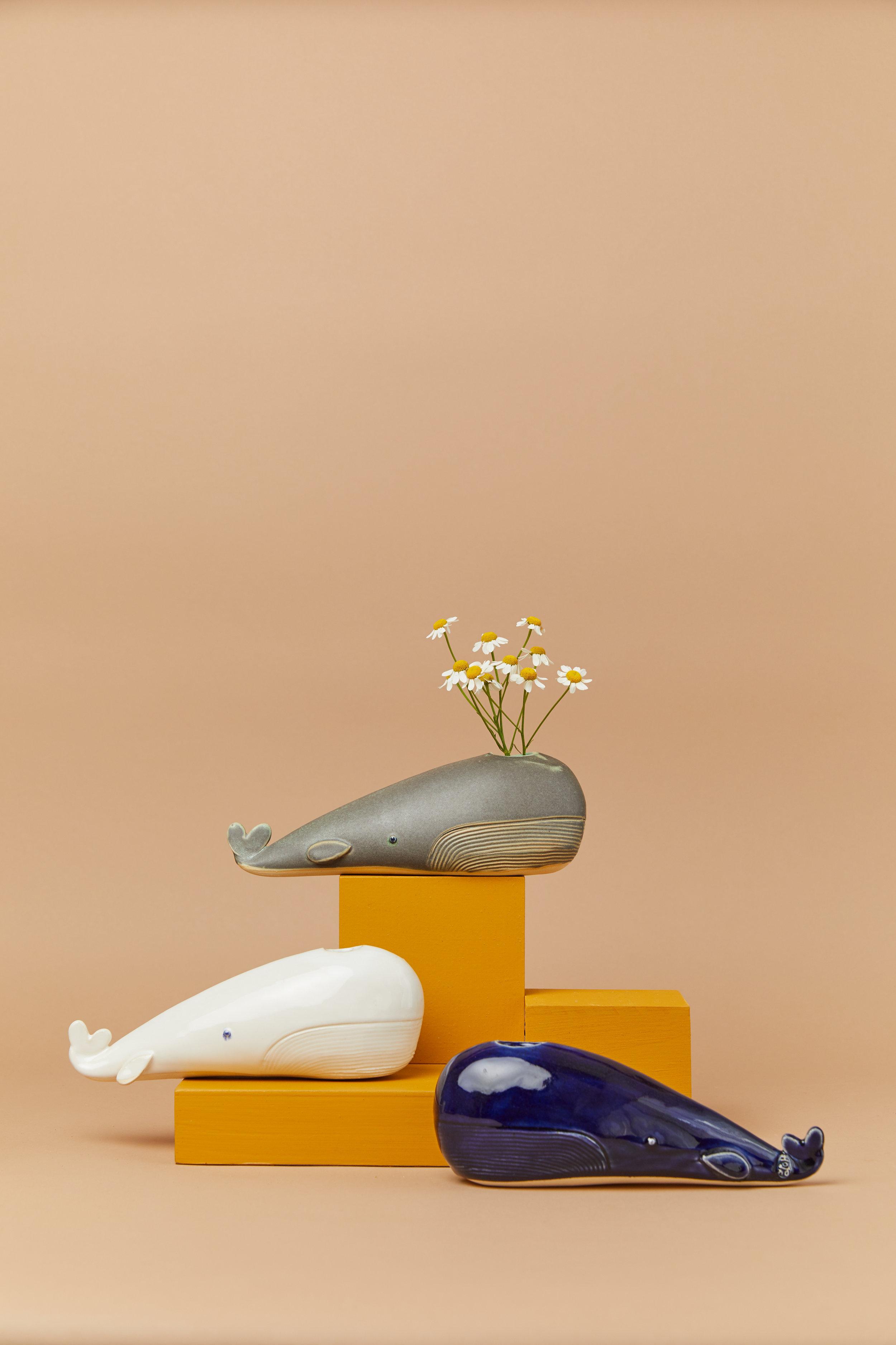 Wale vase by Studio Giverny