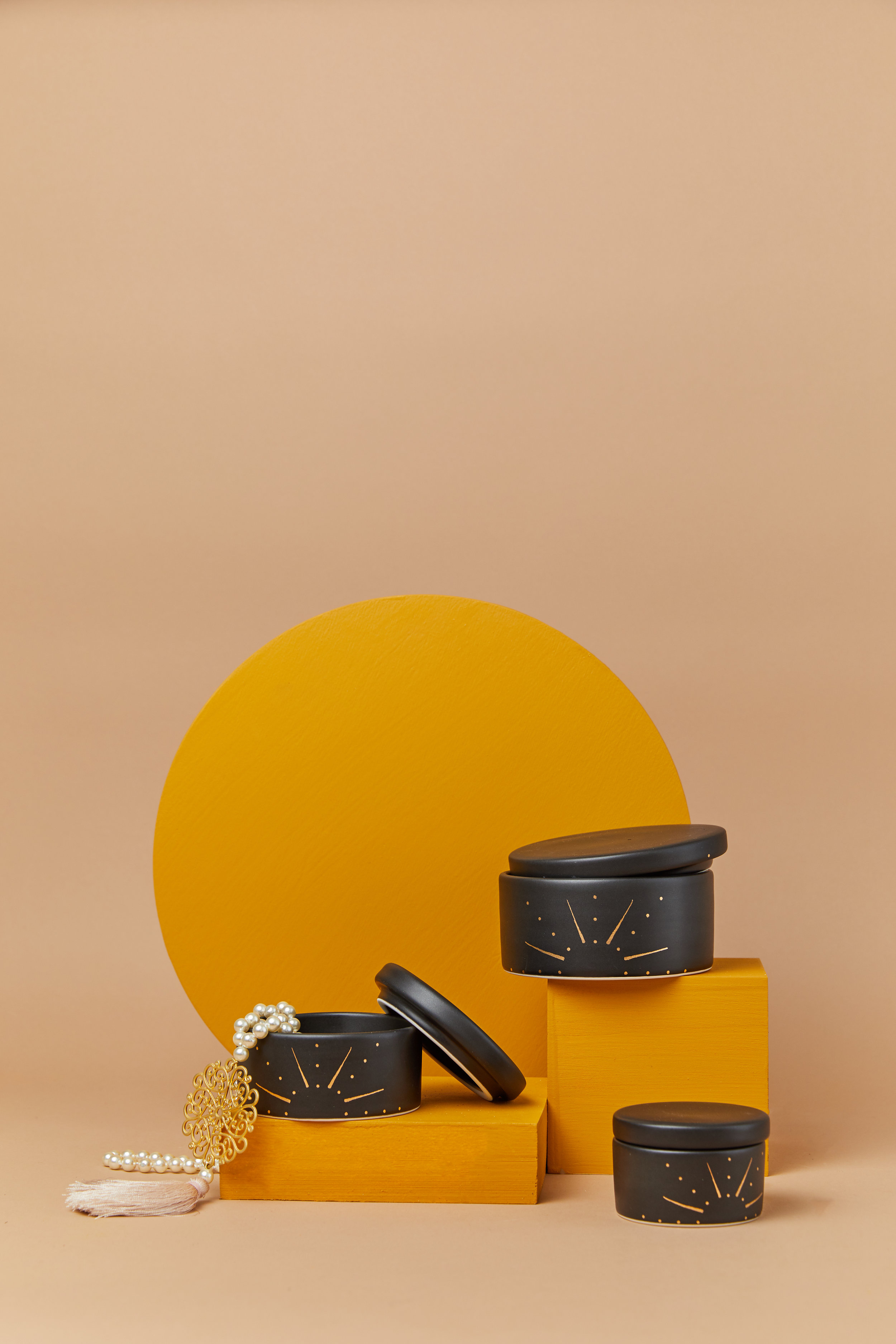 Stash jars by Amy Hamley Ceramics.