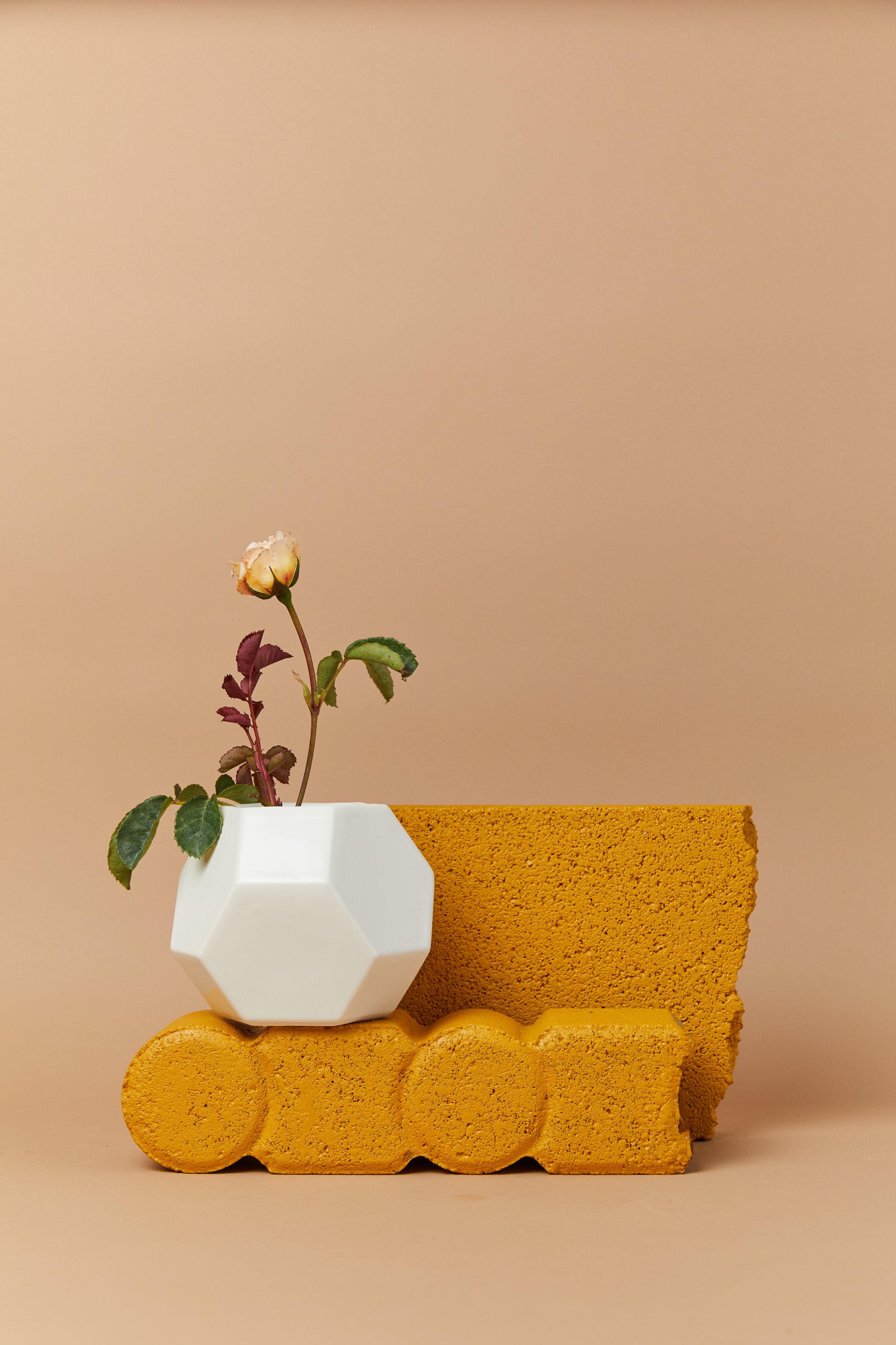 Geometric Vase by Convival Design.