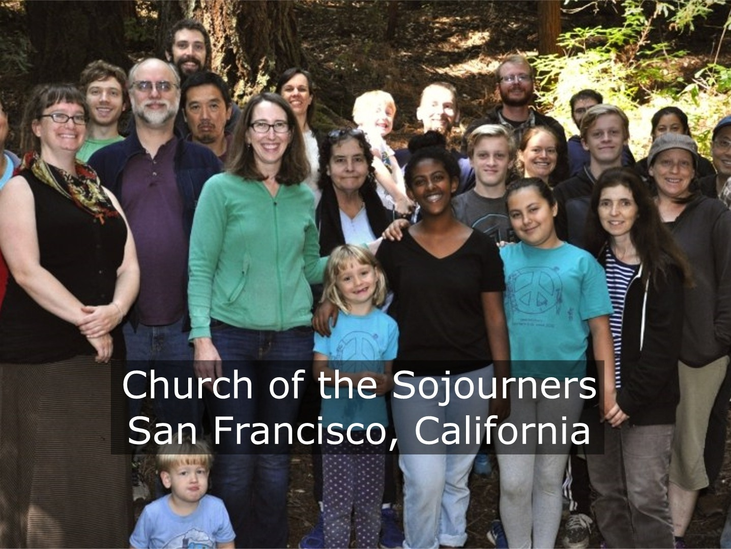 Church of the Sojourners - Church of the Sojourners is a Christ-centered intentional community which is part of the Anabaptist movement. The group does not focus on doctrine, but desire to be deeply rooted in historically orthodox Christianity. The Church wants to be strong in their Christian convictions, strong enough to resist the corrosive elements of the culture, and to be committed to Christian unity in a way that allows them to be in disagreement with brothers and sisters at times without being divisive.