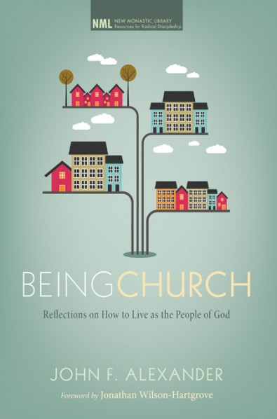 "Being Church - John AlexanderWhat modern church doesn't call itself a ""community""? Yet for how many is it real? How many churches form disciples intimately connected enough to call themselves Christ's ""body""? How many form disciples who know the relational arts that create a robust unity? How many form disciples practiced in the ways of sacrificial love?Pastor John Alexander, a thirty-year veteran of living in Christian communities, yearns for all the wonder and promise of the New Testament vision of church to come true. After struggling with Scripture in live-together church communities, he shares the Scriptural practices and wisdom that make for an authentic, sustainable, and joyful life together. For any person or church wanting to move beyond the cliché of ""community"" to the radical vision of the New Testament, this book is an invaluable guide."