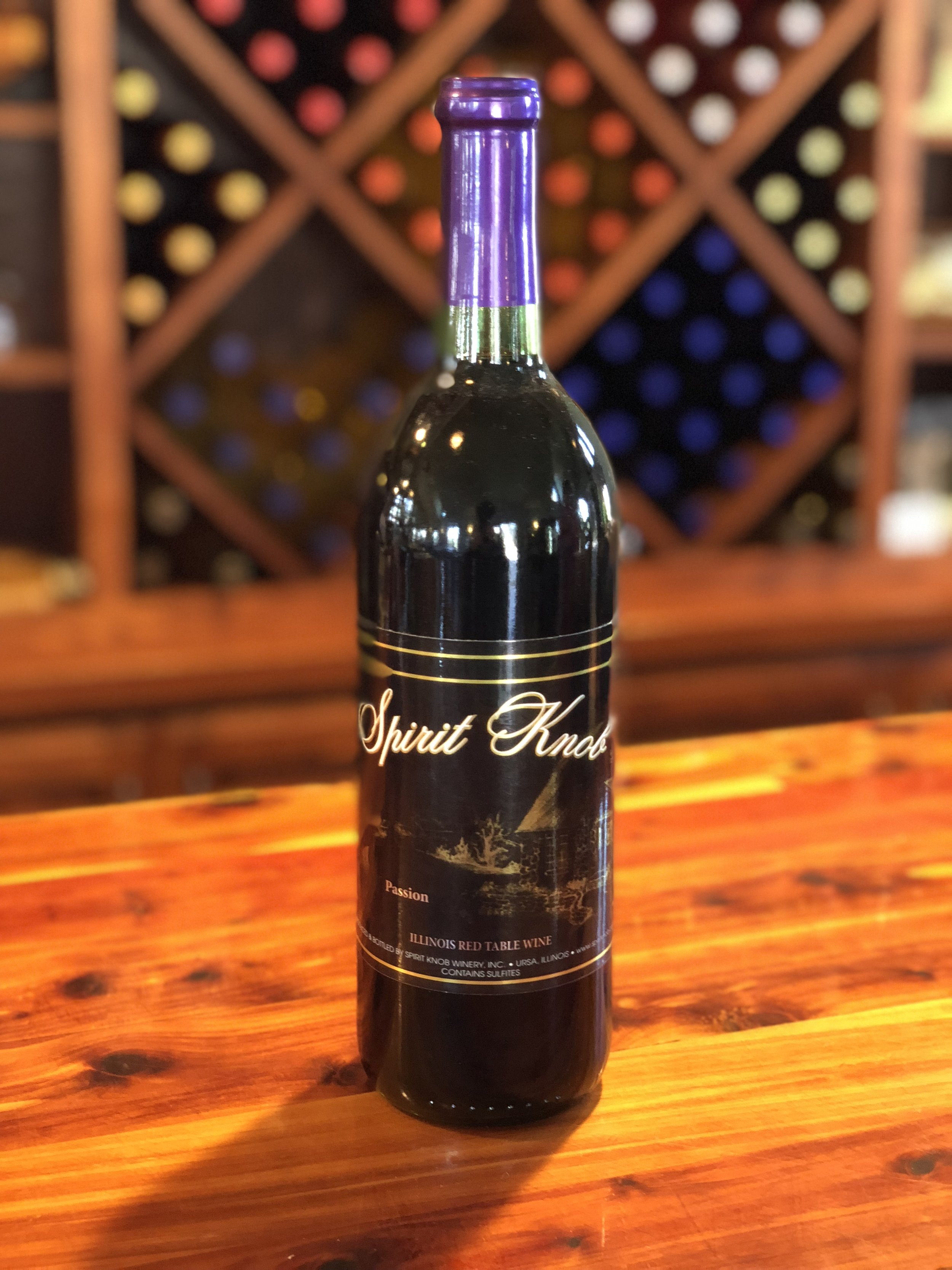 Passion - Our sweetest blended grape wine with lots of fruity flavor.Click here to buy now!