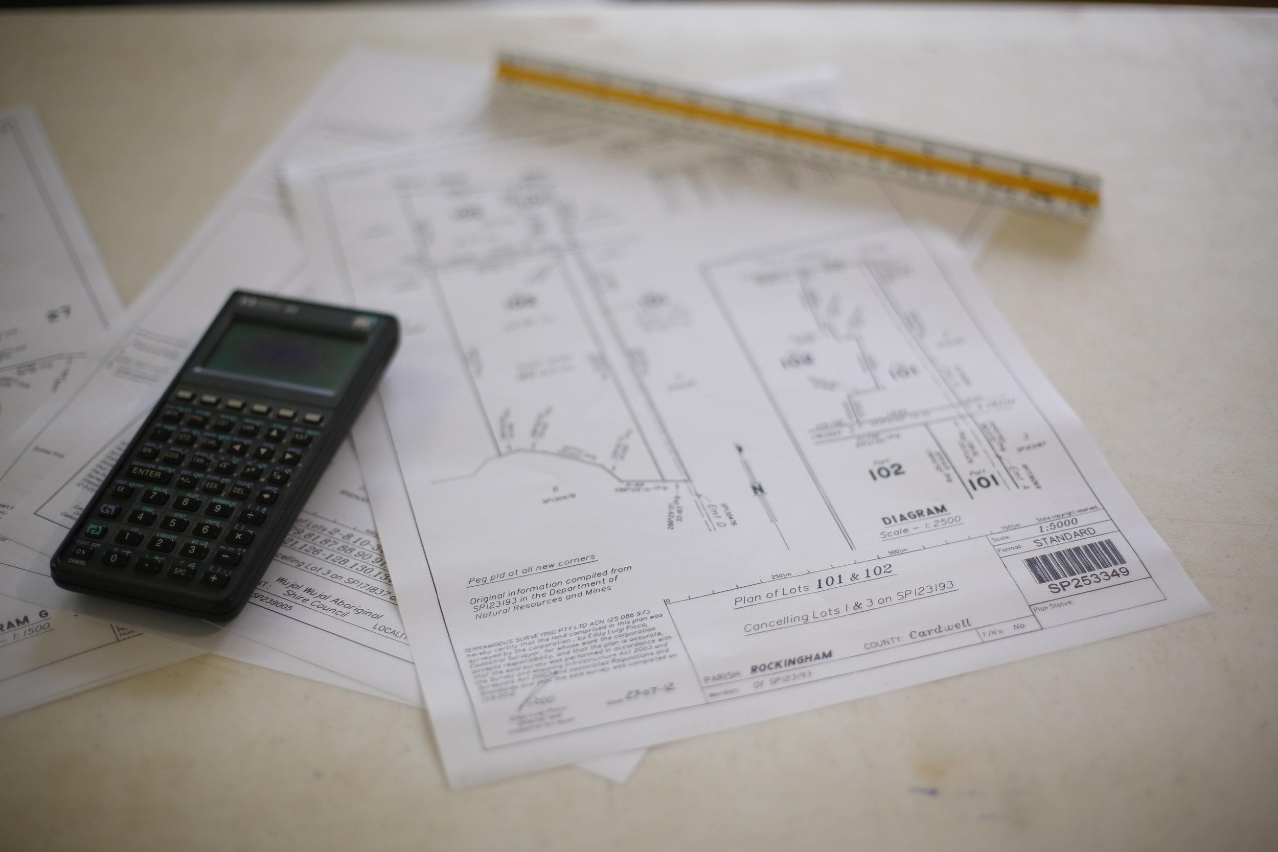 Cadastral Survey Plan