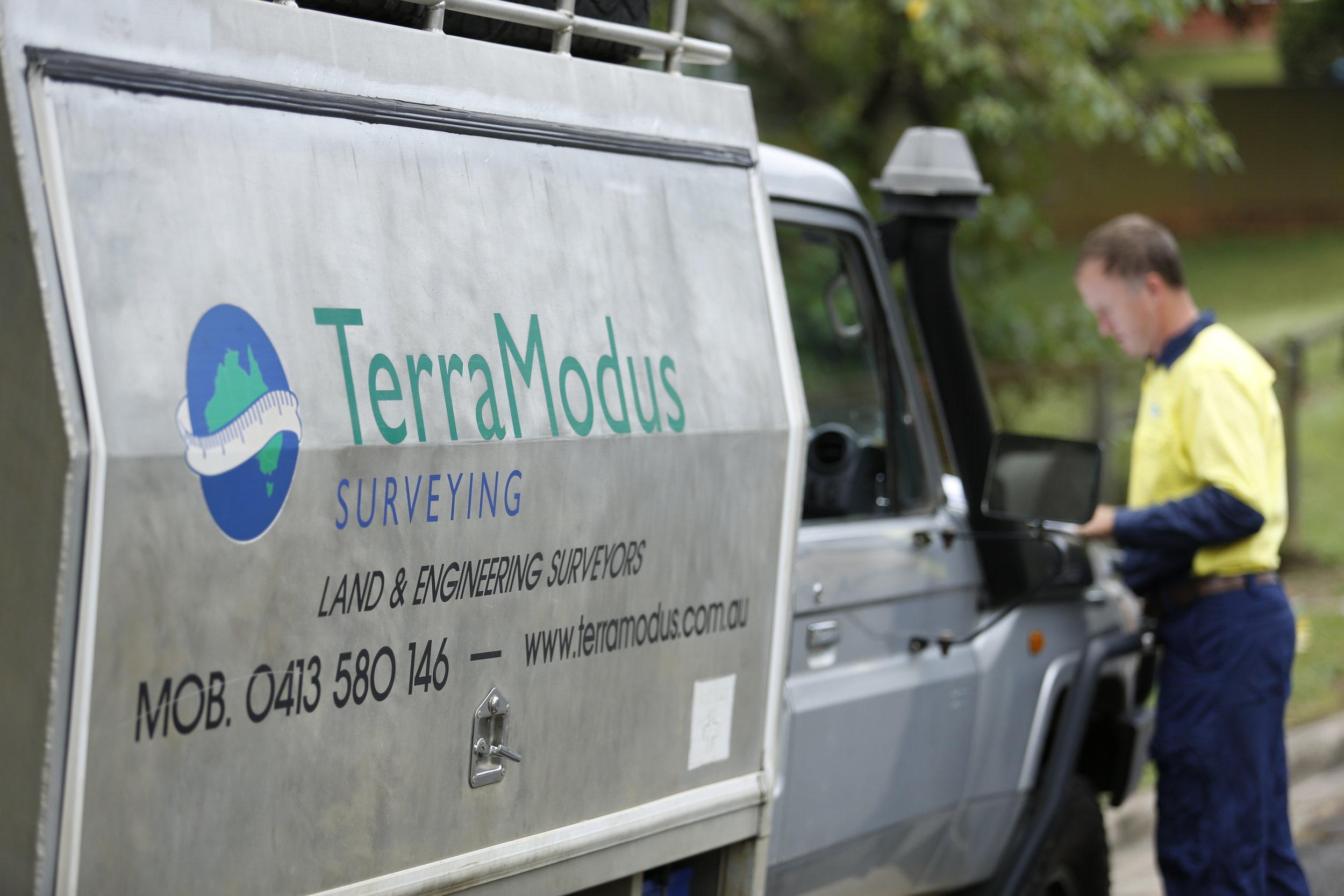 TerraModus Vehicle in Field