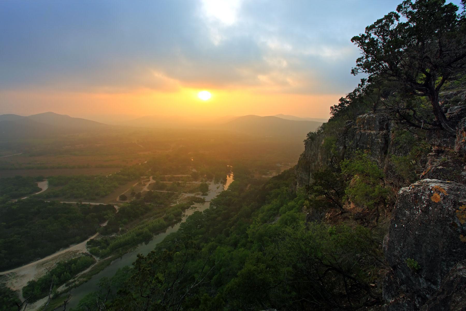 Frio Canyon Sunrise