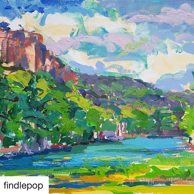 Guess where? Beautiful painting of the Frio🐟🦋🐢🦆⛺️📍 •••••••••••••••••••••••••••••••••••••••••••••••••••••#leakey #concan #frioriver #friocanyon #serenesunday #summertimeandthelivingiseasy #garnerstatepark #garner #riofrio #summer2018 #summerbreeze #texassummers #texashillcountry #hillcountry #uvaldecounty #realcounty #deepintheheartoftexas #naturaleza