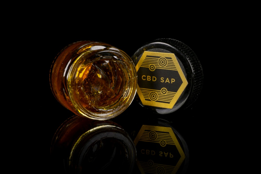 CBD SAP - Many times when extracting CBD dominant cannabis, the result is an aromatic sticky product we call CBD Sap.