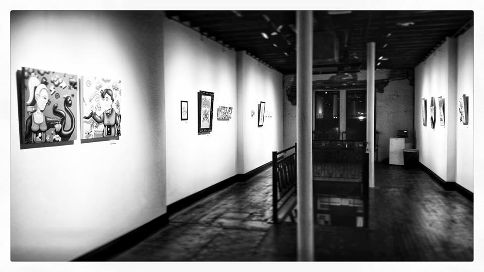 EXHIBITION OPENING - WEDNESDAY, SEPTEMBER 11THTHE CELLAR AT PARLOR1707 LOCUST ST. KCMOTIME - 6:00-10:00PM