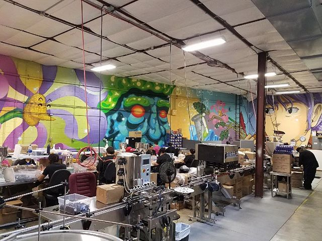 We are happy to announce a new festival sponsor @cbdamerican!  CBD American Shaman brings worldwide wellness through ultra-concentrated terpene rich CBD oil. Ships to all 50 States. Be sure to check them out!  Festival Alum @rifrafgiraffe @lookatart & @sebastiancoolidge painted the inside of their warehouse last year and it came out looking 🔥!!
